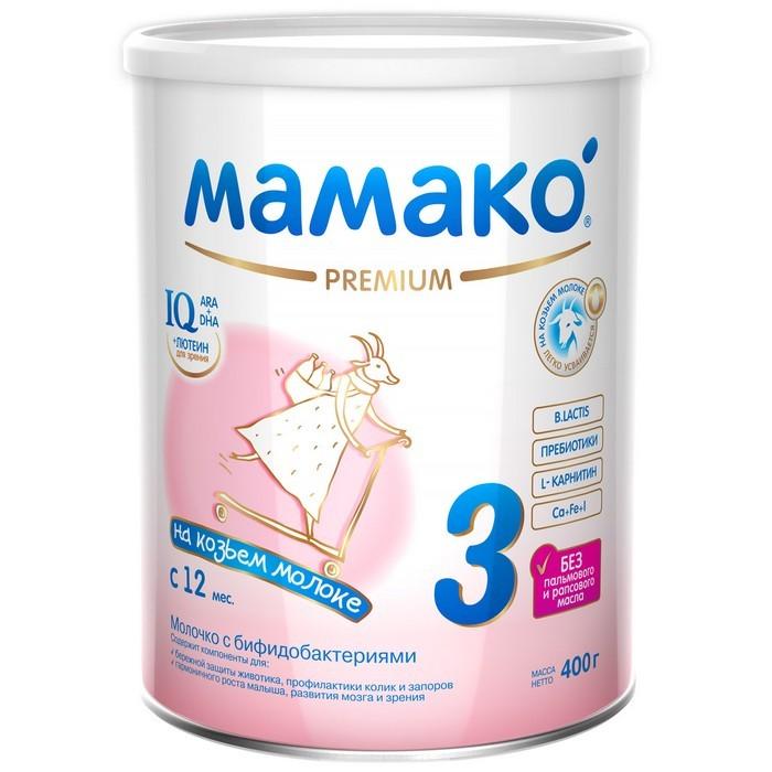Мамако 3 Молочная смесь на основе козьего молока 400 г