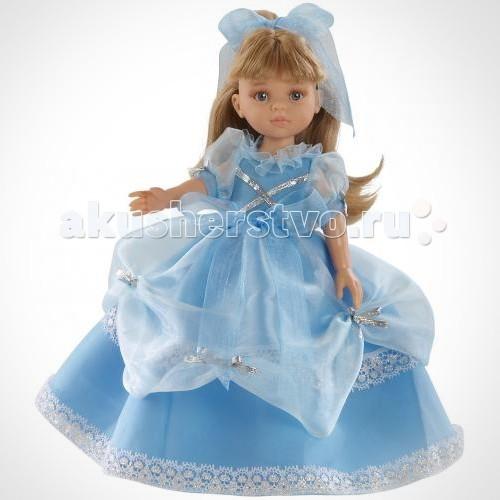 Paola Reina Карла принцесса 32 см 04570Карла принцесса 32 см 04570Кукла Карла принцесса 32 см 04570  У куклы Паола Рейна нежный ванильный аромат.  Уникальный и неповторимый дизайн лица и тела. Ручная работа (ресницы, веснушки, щечки, губы, прическа). Волосы легко расчесываются и блестят. Глазки не закрываются. Ручки, ножки и голова поворачиваются.  Качество подтверждено нормами безопасности EN71 ЕЭС.   Материалы:  - кукла изготовлена из винила - глаза выполнены в виде кристалла из прозрачного твердого пластика - волосы сделаны из высококачественного нейлона.<br>