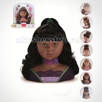 Paola Reina Игровой набор Голова для причесок большая Мулатка