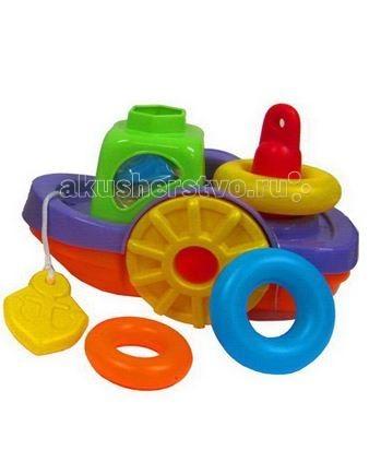 Simba ABC Игрушка для купания КорабликABC Игрушка для купания КорабликИгрушка для купания Simba ABC Кораблик - это замечательный игровой набор для купания, который станет отличным подарком для любого малыша.   Яркий кораблик, в котором есть сортер на 5 фигур и пирамидка на 3 кольца, превратит обычные водные процедуры в огромное удовольствие.  В процессе игры ребенок будет выдумывать различные сюжеты, развивая свое воображение.<br>