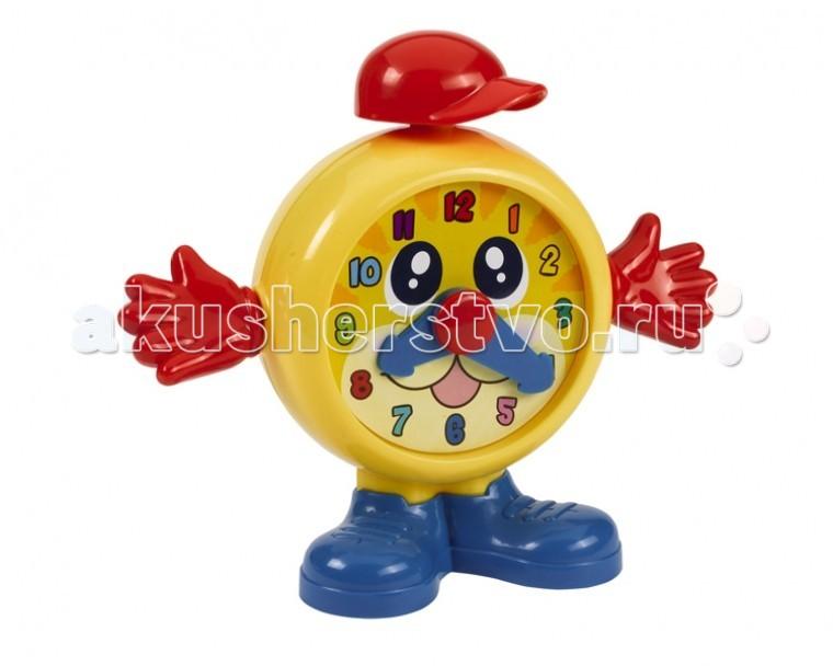 Развивающая игрушка Simba ABC Веселый будильникABC Веселый будильникИгрушка Simba ABC Веселый будильник   При нажатии на шапочку будильника, раздается веселый звук. Стрелки и ручки будильника могут крутиться.  Размер: 19 см<br>