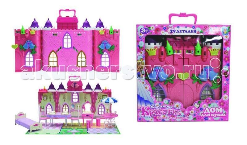 1 Toy Кукольный домик Красотка Колокольчик с мебелью (29 деталей)