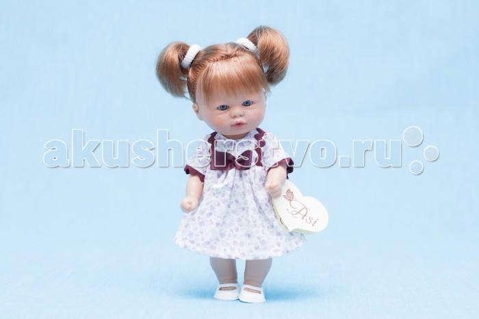 ASI Пупсик 20 см 112350Пупсик 20 см 112350Кукла ASI Пупсик 112350 - это рыжая девочка с двумя хвостиками - просто очаровательна!  Этот пупсик выполнен из высококачественного винила, с прошитыми волосами, идеально подойдет для игры Вашего ребенка.  Пупсик одет в голубое платьице и белые туфельки.  Особенности: Пупсик ASI сделан очень качественно.  Без запаха.  Производство Испания. Используется безопасный твердый винил.  Видна прорисовка мельчайших подробностей тела, рук и ног.<br>