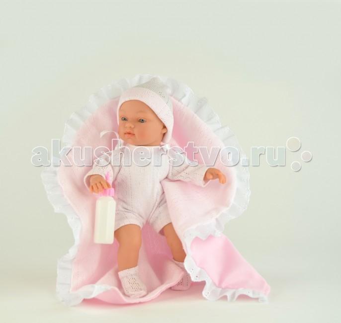 ASI Пупсик Гугу 27 смПупсик Гугу 27 смКукла ASI Пупсик Гугу 412830 с мягконабивным телом, а ручки, ножки и голова выполнены из винила высокого качества. Пупс без волос.  Малыш Гугу одет в розовый комбинезон, шапочку и белые носочки.   В комплекте идет одеяльце с кружевной оборкой и бутылочка.  Особенности: Пупсик ASI сделан очень качественно.  Без запаха.  Производство Испания. Используется безопасный твердый винил.  Видна прорисовка мельчайших подробностей тела, рук и ног.<br>