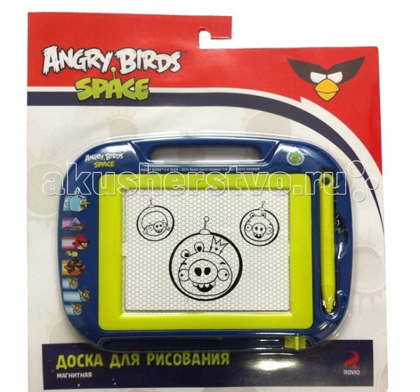 1 Toy Angry Birds Space ������ ��������� �����