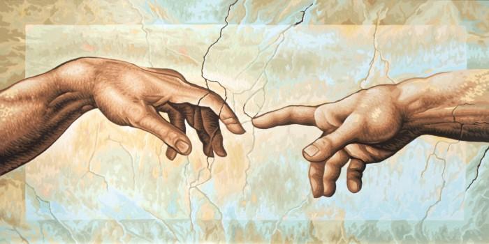 Schipper Картина по номерам Сотворение Адама (Микеланджело Буонаротти) 80х40 см