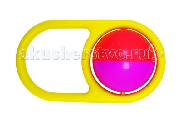 Погремушка Игрушкин МалышМалышПогремушка - первая игрушка малыша. Она способствует развитию моторики, тактильных ощущений, слуха и зрения.  Шарик диаметром 50 мм с наполнением в рамке.  Погремушка выполнена из высококачественных материалов.  Цвета в ассортименте.<br>
