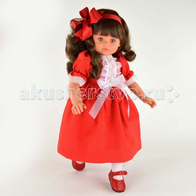 ASI Кукла Пепа 60 см 281790Кукла Пепа 60 см 281790Кукла ASI Пепа 60 см 281790 - просто красавица - является воплощением всех детских фантазий.  Невероятно красивая куколка похожа на настоящую девочку, ростом 60 см. У нее большие выразительные голубые глаза с пушистыми ресницами и пухлые губы, густые длинные волосы, которые легко расчесываются и укладываются в прическу.  Куколку можно сажать на стульчик, возить в коляске. Она принимает естественные позы. Руки и ноги куклы фиксируются в различных положениях!  Одета Пепа в праздничное красное платье, белые носочки и красные туфельки, завершает образ красный атласный бант в волосах.  Особенности: Пупсик ASI сделан очень качественно.  Без запаха.  Производство Испания. Используется безопасный твердый винил.  Видна прорисовка мельчайших подробностей тела, рук и ног.<br>