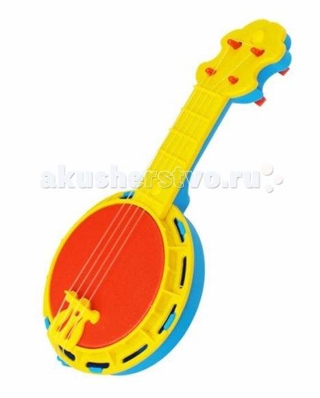Музыкальная игрушка Игрушкин БанджоБанджоБанджо Игрушкин 22129 - это яркий музыкальный инструмент для детей в возрасте от 3 лет.   Данная модель сделана из качественного пластика, который совершенно безвреден для ребенка.   Эта игрушка послужит замечательным подарком творческому ребенку.  Цвета в ассортименте.<br>