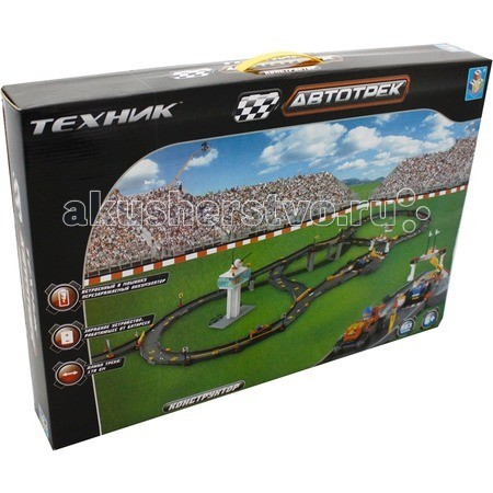 1 Toy Железная дорога Автотрек-конструктор