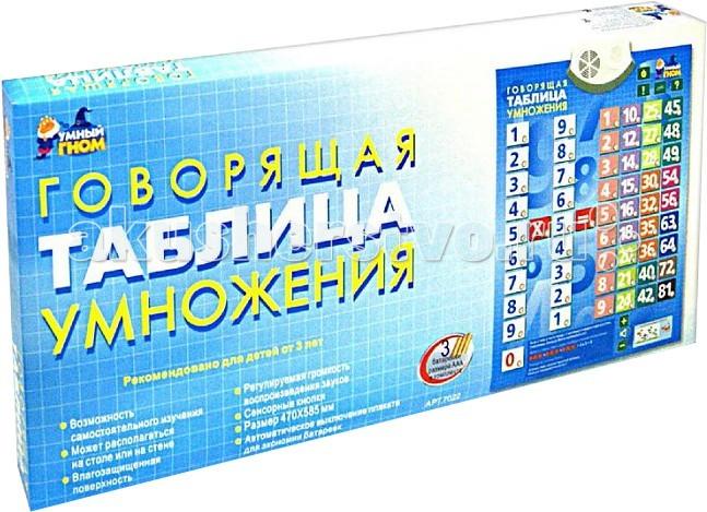 1 Toy Плакат обучающий Таблица умножения