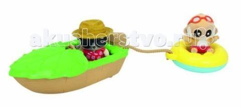 Simba YooHoo&amp;Friends Beach ЛодкаYooHoo&amp;Friends Beach ЛодкаИгровой набор Simba YooHoo&Friends Beach Лодка + 2 фигурки   В игровой набор входят: 2 флоковые фигурки 5 см, лодка и спасательный круг.<br>