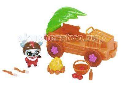 Simba YooHoo&amp;Friends Сафари ДжипYooHoo&amp;Friends Сафари ДжипИгровой набор Simba YooHoo&Friends Сафари Джип станет отличным подарком для любого ребенка.   Во время игры малыш развивает воображение и моторику пальцев рук. Все элементы из комплекта изготовлены из высококачественного пластика.   В наборе:    1 флоковая фигурку Автогонщик  автомобиль  аксессуары<br>