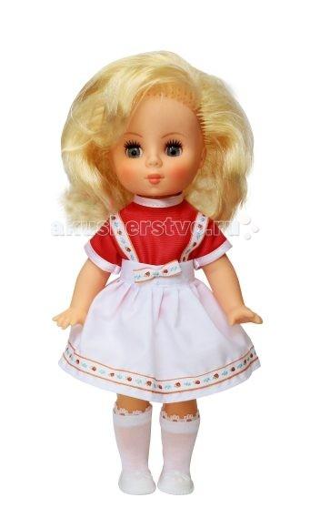 Игрушкин Кукла Ксюша 30 смКукла Ксюша 30 смКсюша 30 см одета в нарядное платье, гольфы и туфли.   У куклы подвижные ножки, ручки, голова; глазки закрываются.  Высота куклы - 30 см.  Играя в куклы, ребенок моделирует различные ситуации из жизни, а заодно учится проявлять заботу, терпение и любовь.<br>