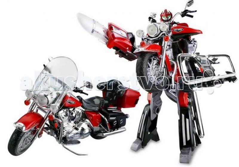 1 Toy Робот Транскар Harley-Davidson FLHRC Racing Classic