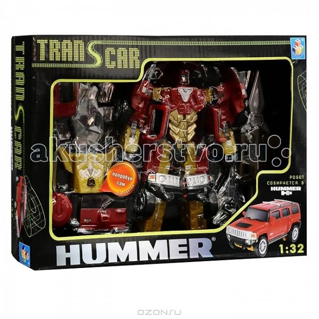 1 Toy Транскар элитный трансформер робот-машина Хаммер H3 1:32