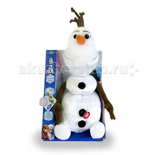 Интерактивная игрушка Disney Снеговик Олаф говорит и тянется 35 см