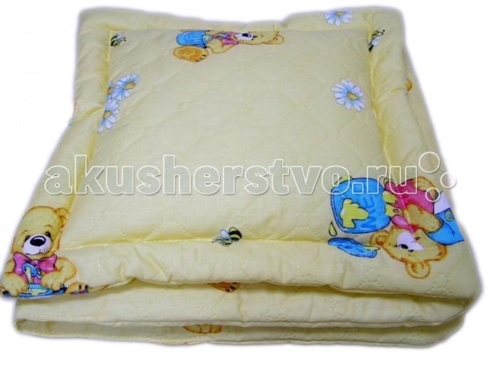Балу Комплект в коляску стеганный (матрас подушка)