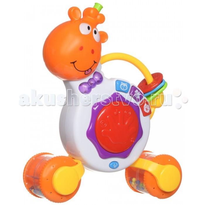 Музыкальная игрушка Zhorya Забавный  жираф