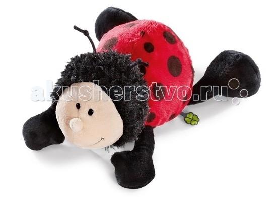 Мягкая игрушка Nici Божья коровка лежачая 30 смБожья коровка лежачая 30 смМягкая игрушка Божья коровка лежачая - милая плюшевая игрушка от немецкого производителя Nici.   Симпатичная божья коровка в лежачей позе приведет в восторг вашего малыша, и ему так понравится каждый вечер засыпать с ней.  У божьей коровки мягкая приятная на ощупь шерстка, а потому ее так приятно обнимать и прижимать к себе.   Игрушка выполнена в классических цветах - тельце у нее красная с черными пятнышками, лапки черного цвета, мордочка - светло-бежевая. На голове у божьей коровки забавные маленькие усики.  Игрушка выполнена из экологически чистых и безопасных материалов.<br>