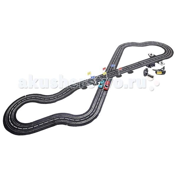 Play Smart Автотрек генераторный параллельные гонки трасса 505 см
