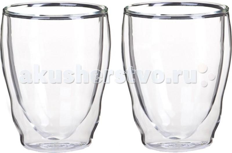 Thermos Стакан из двойного стекла Double glass Tumbler 270 мл 2 шт.