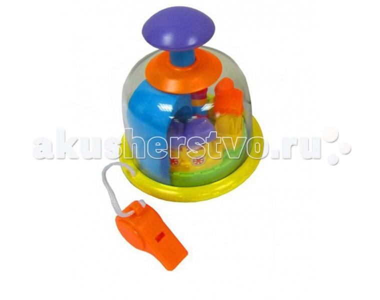 Развивающая игрушка Simba ЮлаЮлаУвлекательная детская игрушка Simba Юла предоставляет прекрасную возможность для вашего малыша совместить игру и познание мира.   Юла изготовлена из высококачественных абсолютно безопасных материалов. В игровой форме способствует развитию моторики и способностей к восприятию звуков и цветов. Вашему ребенку обязательно понравится наличие свистка.<br>