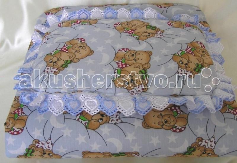 Балу Комплект в коляску (матрас подушка)