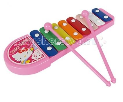 Музыкальная игрушка Simba Ксилофон Hello Kitty