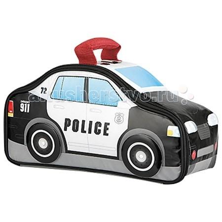 Thermos Детская сумка-термос Police Car NoveltyДетская сумка-термос Police Car NoveltyThermos Детская сумка-термос Police Car Novelty выполнена в виде полицейской машины. Колеса крутятся совсем как настоящие! Уникальная форма с декоративными вставками.  Сумка-термос Foogo Large Diaper Fashion Bag прежде всего свежие продукты и напитки. Более 100 лет покупатели доверяют продукции марки Thermos, которая используется для сохранения свежести и поддержания горячей или холодной температуры продуктов питания и напитков. Сегодня эта традиция продолжается серией стильных и функциональных изделий, предназначенных для различных целей.   Дети обожают забавный дизайн продукции Thermos, которая занимает лидирующие позиции на рынке в сегменте товаров для детей.  Особенности: максимальная изоляция запатентованной системы IsoTec при изготовлении мягких сумок-термосов Thermos использует высококачественный внутренний слой из водонепроницаемого материала PEVA  внутренний слой PEVA – гигиеничен, герметичен, легко очищается износостойкая плетеная ткань – водостойкая и устойчивая к UV термоизоляционная подкладка под внешнюю ткань слой размером 4 мм из пены полиуретана высокой плотности с рефлексивным слоем – отражают холодный воздух для максимальной изоляции легкий вес изделия  Все изделия изготовлены из экологически чистых материалов, не содержат поливинилхлорид - 100% PVC free.  Размеры: 30х14х16 см<br>