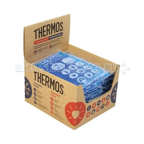 Thermos Аккумулятор температуры Gel Pack 350 гАккумулятор температуры Gel Pack 350 гThermos Аккумулятор температуры Gel Pack 350 г, используется для поддержания как низкой, так и высокой температуры.  Замораживается, разогревается и всегда остается мягким.  Сохраняет холод: Для охлажденных напитков Для сохранения замороженных продуктов Для холодных компрессов На пляжном отдыхе для сохранения косметики и мелкой электронной техники  Сохраняет тепло: Для теплого детского питания Для подогретых продуктов Для горячих компрессов На пикнике для дополнительного источника тепла  Размеры: 16х18х0,35 см<br>