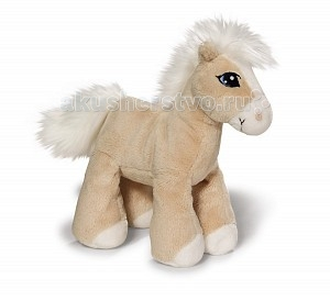 Мягкая игрушка Nici Лошадка Даймонд бежевая стоячая 15 смЛошадка Даймонд бежевая стоячая 15 смОчаровательная бежевая лошадка Даймонд от Nici изготовлена из мягкого плюша и ее так приятно гладить.  Грива и хвостик выполнены в белом цвете из нежного искусственного меха. Ножки имеют достаточно жесткую конструкцию, что обеспечивает лошадке устойчивое положение.   У зверушки только одно положение- стоя, положить или посадить ее не получится из-за конструктивных особенностей.   Игрушка изготовлена из экологически чистых материалов: высококачественного плюша и гипоаллергенного синтепона.<br>