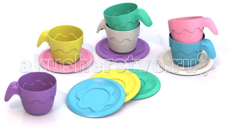 Шкода Набор №3Набор №3Шкода Набор №3  Набор из 12 предметов (6 чашек и 6 блюдец):  Диаметр блюдца: 6,5 см. Высота чашечки: 3,5 см.<br>