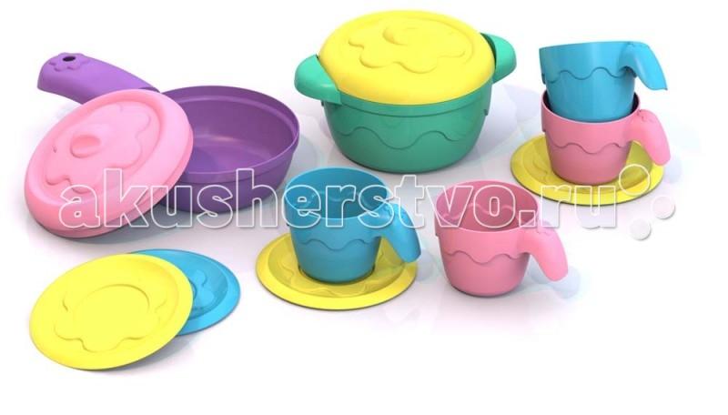 Шкода Набор №4Набор №4Шкода Набор №4 из пластмассы нового поколения, в производстве использованы очень яркие цвета и новые дизайнерские решения.   наборе):  сковорода (12x7,5x4,5 см),  кастрюлька (9,5x7,5x6 см),  блюдечко (6,5x6,5x0,5 см),  чашечка (4x5,5x3,5 см).<br>