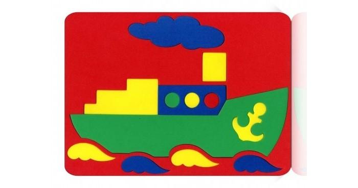 Бомик Мозаика ПароходМозаика ПароходБомик Мозаика Пароход. Мягкий пазл из разноцветных деталей, собранных в фигурную рамку мягкого прямоугольного листа.  Игра нацелена на развитие творческих и мыслительных способностей ребенка. Также развивает пространственные представления, внимание и мелкую моторику.<br>