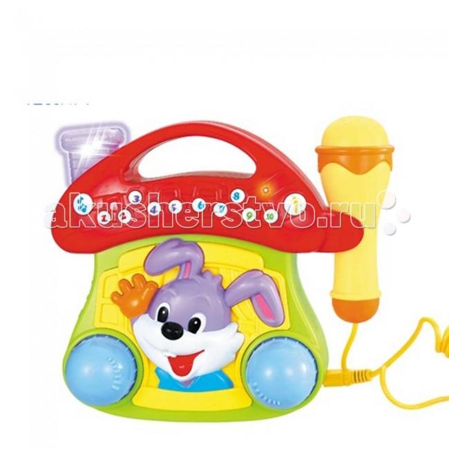 Музыкальная игрушка Huile Toys Грибок с микрофоном