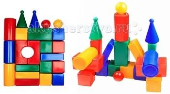 Развивающая игрушка СВСД Строительный набор Стена (22 элемента)Строительный набор Стена (22 элемента)СВСД Строительный набор Стена из крупных геометрических фигур для конструирования.   Особенности: Содержит 22 строительных элементов, с помощью которых Ваш ребёнок сможет построить более сложные фигуры.  Одинаково хорошо подходит для индивидуальных и совместных игр.  Развивает цветовосприятие и созидательность, прививает способность логически мыслить, учит усидчивости и желанию довести начатое дело до конца.  Построив из набора дом, замок или крепость, его можно комбинировать с другими, более мелкими игрушками.  Размеры деталей: 90 мм.<br>