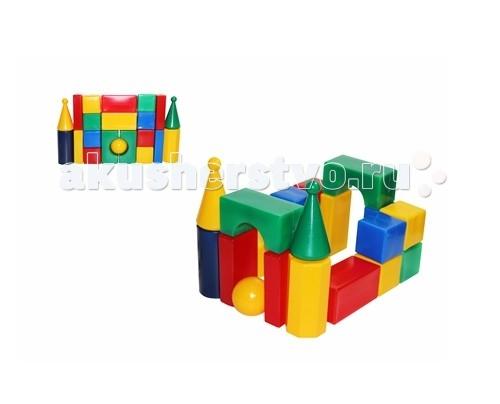 Развивающая игрушка СВСД Строительный набор Стена-смайл (21 элемент)Строительный набор Стена-смайл (21 элемент)СВСД Строительный набор Стена-смайл с оригинальными строительными элементами.   Особенности: Содержит 21 строительный элемент с помощью которых Ваш ребёнок сможет построить более сложные фигуры.  Одинаково хорошо подходит для индивидуальных и совместных игр.  Развивает цветовосприятие и созидательность, прививает способность логически мыслить, учит усидчивости и желанию довести начатое дело до конца.  Построив из набора дом, замок или крепость, его можно комбинировать с другими, более мелкими игрушками.  Размеры деталей: 70 мм.<br>