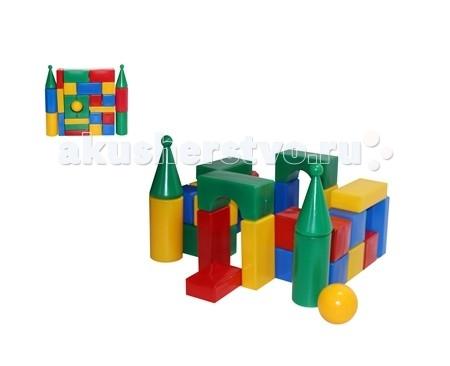 Развивающая игрушка СВСД Строительный набор Стена-смайл (27 элементов)Строительный набор Стена-смайл (27 элементов)СВСД Строительный набор Стена-смайл с оригинальными строительными элементами.   Особенности: Содержит 27 строительных элементов с помощью которых Ваш ребёнок сможет построить более сложные фигуры.  Одинаково хорошо подходит для индивидуальных и совместных игр.  Развивает цветовосприятие и созидательность, прививает способность логически мыслить, учит усидчивости и желанию довести начатое дело до конца.  Построив из набора дом, замок или крепость, его можно комбинировать с другими, более мелкими игрушками.  Размеры деталей: 70 мм.<br>