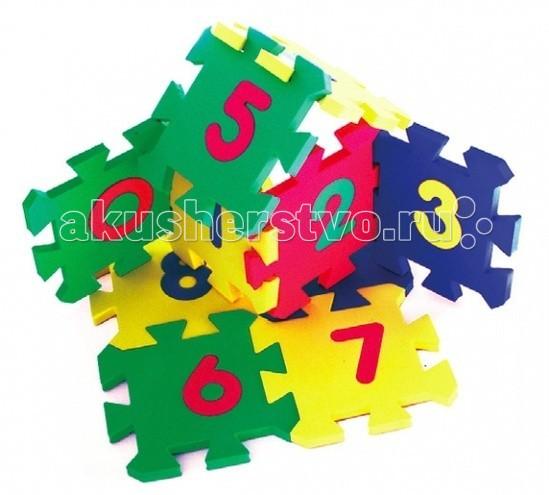 Игровой коврик Бомик Мозаика 14 х 14 см 10 штук