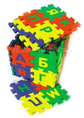 Игровой коврик Бомик Алфавит 14 х 14 см