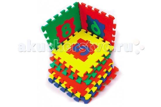 Игровой коврик Бомик Цифры 28 х 28 смЦифры 28 х 28 смИгровой коврик Бомик Цифры 28 х 28 см. Яркий разноцветный коврик с цифрами, который к тому же можно собрать и разобрать!  Особенности: игрушка состоит из 10 квадратных ковриков разных цветов(синий, красный, желтый, зеленый) коврики можно соединять друг с другом по принципу пазлов каждый коврик - это рамка, в которую вставляется цифра от 0 до 9 игрушка изготовлена из мягкого вспененного полимера, приятного на ощупь, достаточно плотного и легко моющегося.  Игровые возможности: собранный коврик можно использовать для игр и занятий цифры из ковриков легко вынимаются и можно играть отдельно с ними составить скачок и поиграть в классики.  В комплекте: 10 элементов Размер элемента: 28 х 28 см<br>