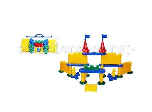 Конструктор СВСД Форт (28 элементов)Форт (28 элементов)Конструктор СВСД Форт представляет собой законченное конструктивное решение.  Особенности: Отличительная особенность конструктора в соединении элементов между собой с помощью специальных креплений.  Результат - конструктор имеет целостный каркас и хорошую устойчивость.  Размер основного строительного блока 120х190 мм.<br>