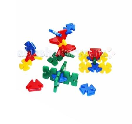 Конструктор СВСД Радуга (28 элементов)Радуга (28 элементов)Конструктор СВСД Радуга представляет собой законченное конструктивное решение.  Надёжное, прочное соединение элементов конструктора между собой.<br>