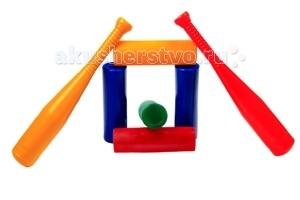 СВСД Городки (14 предметов)Городки (14 предметов)СВСД Городки (14 предметов)   В комплект игры «Городки» входят десять цилиндров для построения фигур и четыре биты.   В эту игру интересно играть как на открытом воздухе, так и в спортивном зале детского сада.<br>