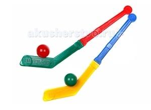 СВСД 2 клюшки с двумя шарами2 клюшки с двумя шарамиСВСД 2 клюшки с двумя шарами - увлекательная игра как в помещении, так и на открытом воздухе, как зимой, так и летом.   В комплекте:  2 клюшки (высота 400 мм) для игры в хоккей  2 шара (либо шар и шайба)<br>