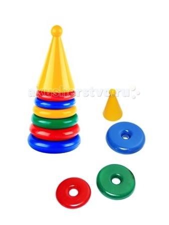 Развивающая игрушка СВСД Пирамидка РакетаПирамидка РакетаСВСД Пирамидка Ракета - это настоящее дидактическое пособие для малышей и тренажер для развития мелкой моторики и координации движений рук.   Особенности: Кольца этой пирамидки отличаются не только диаметром, но и толщиной: чем меньше диаметр, тем тоньше кольцо. Состоит из основания, 5 колец  В процессе игры ребенок знакомится с разными цветами и размерами предметов, учится соотносить и сравнивать предметы по этим признакам.  С помощью пирамидки можно освоить устный порядковый счет. Изготовлено из высококачественной пластмассы. Высота 285 мм.<br>