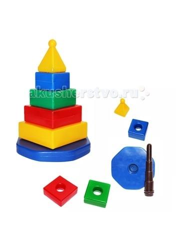 Развивающая игрушка СВСД Пирамидка Квадро