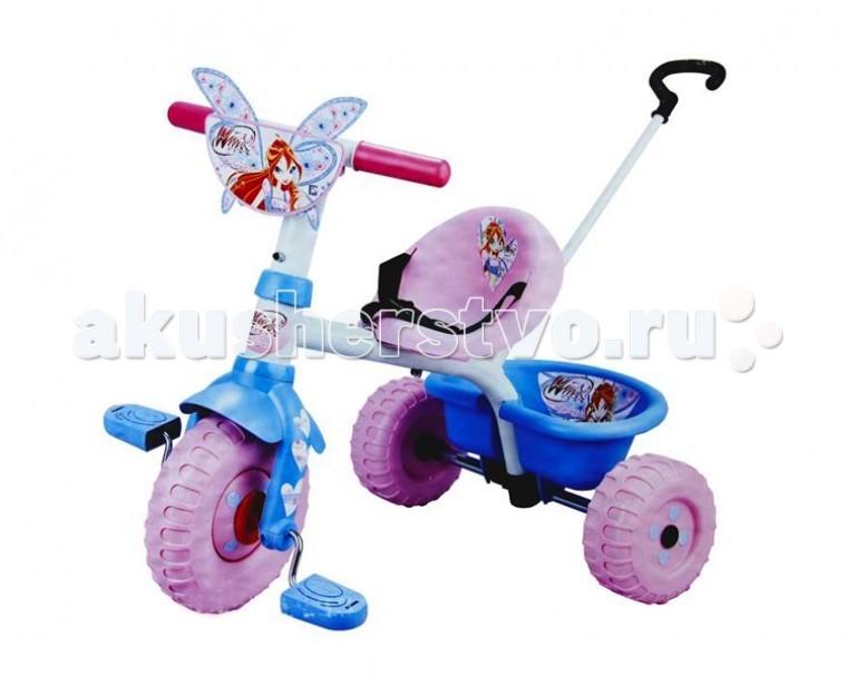 Велосипед трехколесный Smoby Winx