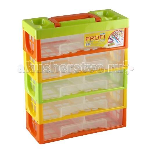 Полимербыт Мультибокс 5 секцийМультибокс 5 секцийХранить детские вещи следует с особым вниманием. И сама детская мебель для хранения должна быть наивысшего качества, удобная, безопасная и красивая.   В вашей комнате никогда не будет скучно, если вы приобретаете пластиковый детский Мультибокс 5 секций ярких расцветок, с вместительными ящиками.   Полимербыт производит пластмассовые товары для детей, гарантируя безопасность пластика и красителей. Каждое детское изделие из пластика изготовлено нами с большой любовью и заботой.  В комнате у малыша будет порядок, если у вас есть удобный пластиковый Мультибокс 5 секций от компании Полимербыт!  Размер изделия (см): 32х14х38.<br>